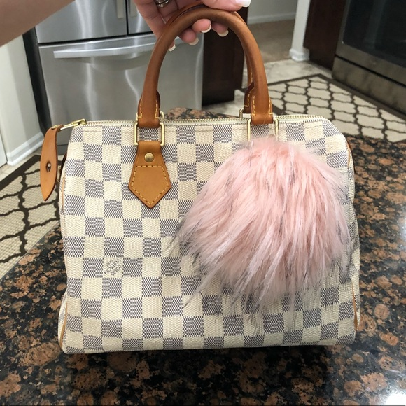 931dbd947c80 Louis Vuitton Handbags - Authentic Louis Vuitton Speedy 25 Damier Azur💗